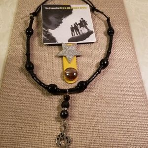Other - Sly and the family stone magnet/necklace set